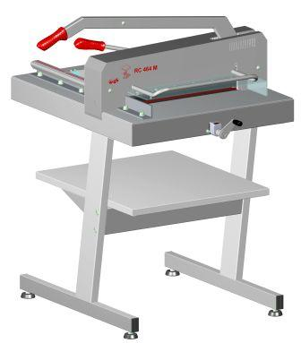 Manual paper Ream Cutters RC 464 M Powerful manual office guillotine with 463 mm cutting length and 40 mm cutting height TECHNICAL and PROFESSIONAL for Graphic Arts and Digital Printing Industry